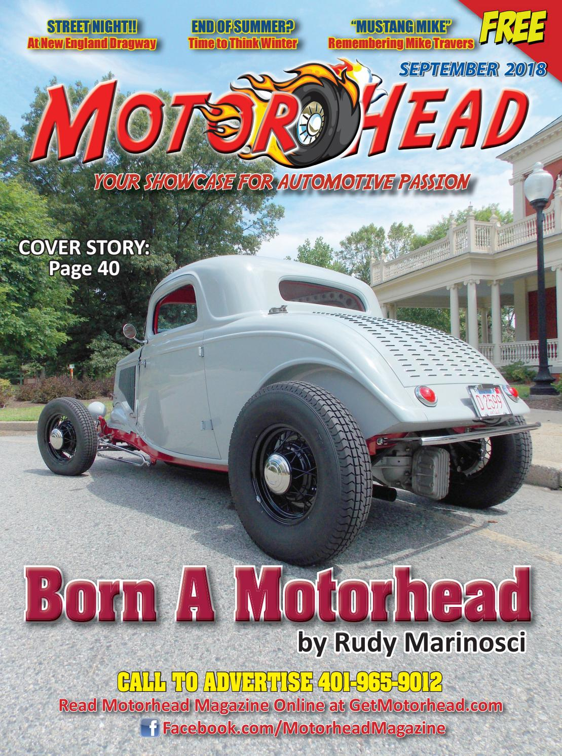 Elite Mini Cabs Epping Motorhead September 2018 Web Mp By Michael Poulin Issuu