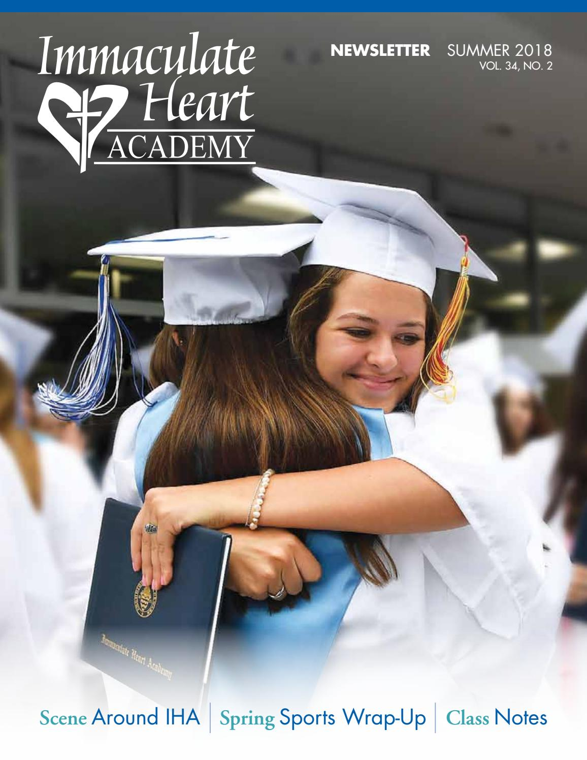 Lena Küchenmeister Summer 2018 Newsletter By Immaculate Heart Academy Issuu
