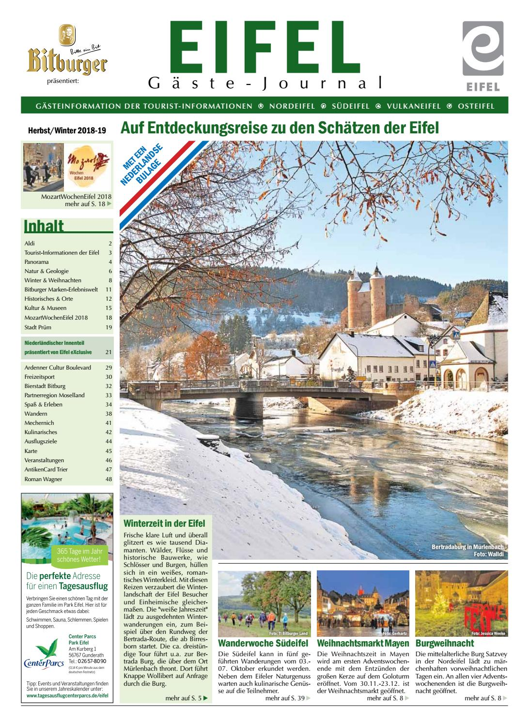 Deko Bad Bertrich Eifel Gäste Journal Herbst Winter 2018 19 By Tourist