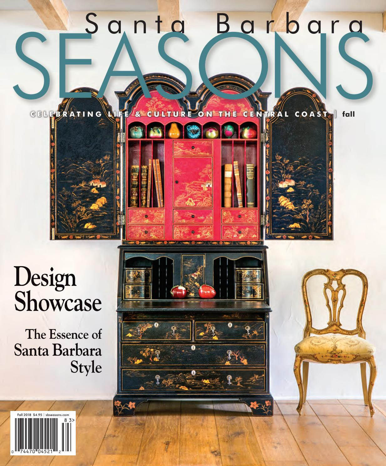 Zen Arte E Aroma Santa Barbara Seasons Magazine Fall 2018 By Sbseasons Issuu