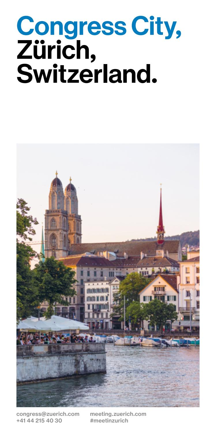 Arte Swiss Quality Hotel Zurich Meetings Conventions English By Zürich Tourismus Issuu