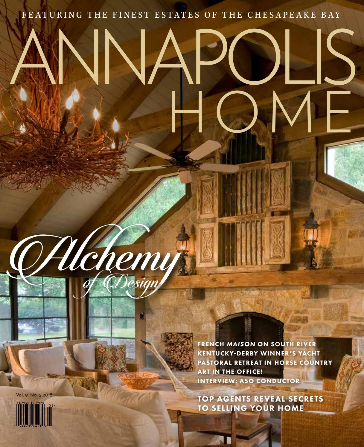 Maison Decor Valladolid Annapolis Home Sept Oct 2018 By Th Media Issuu
