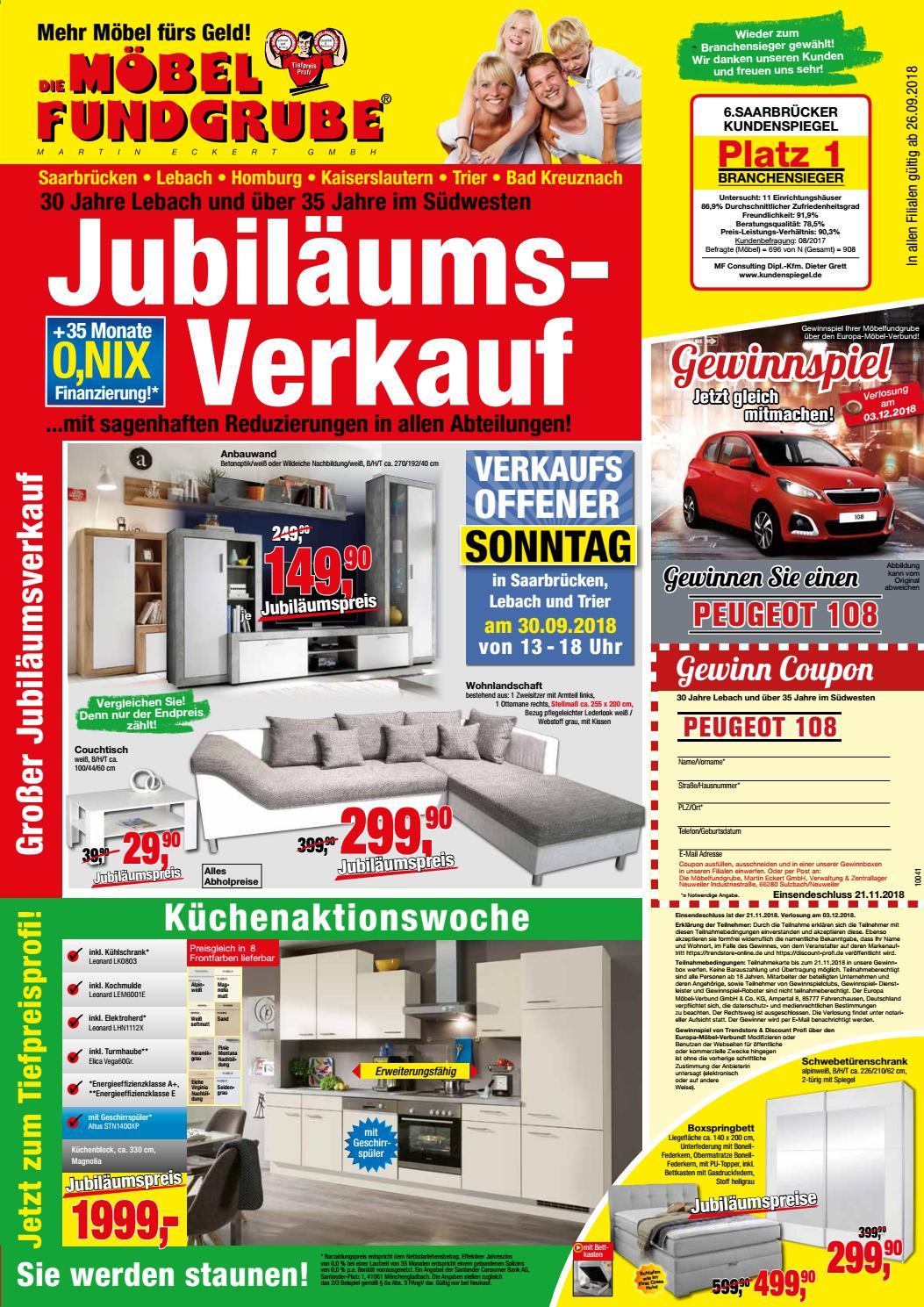 Küche Kranzleiste Buche Möbel Fundgrube Prospekt Kw 39 By Die