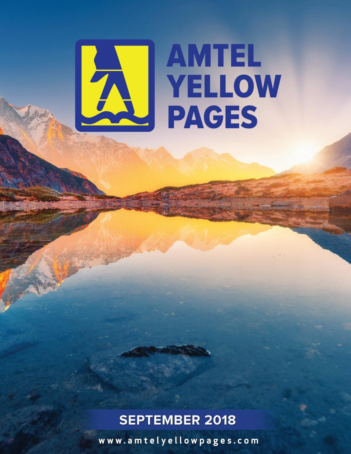 Amstel Yellow Pages 2018 By El Periodico U S A Issuu