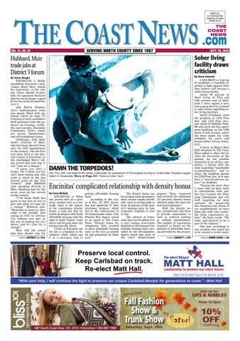 The Coast News, September 28, 2018 by Coast News Group - issuu