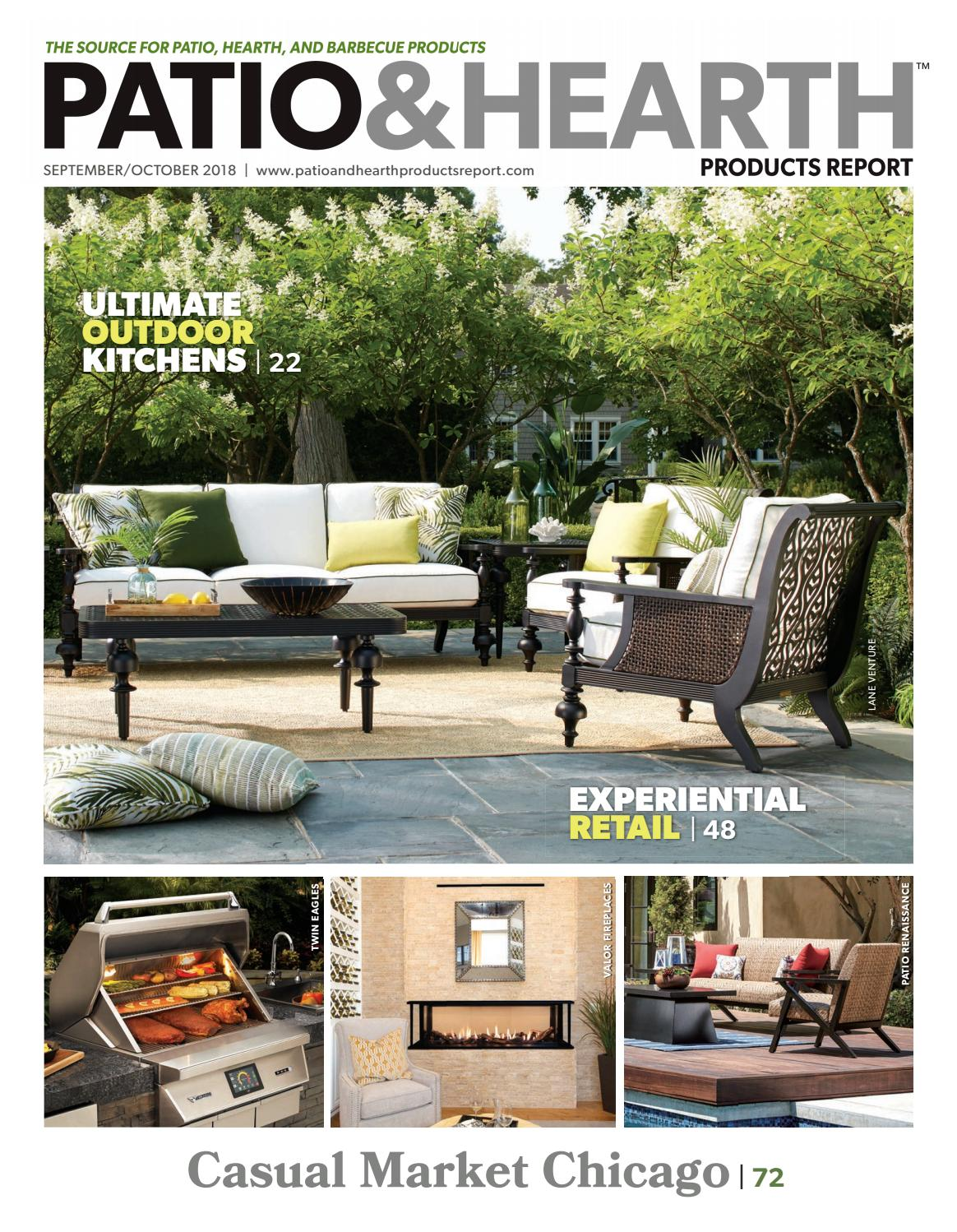 Outdoor Küche Fire Magic Patio Hearth Products Report September October 2018