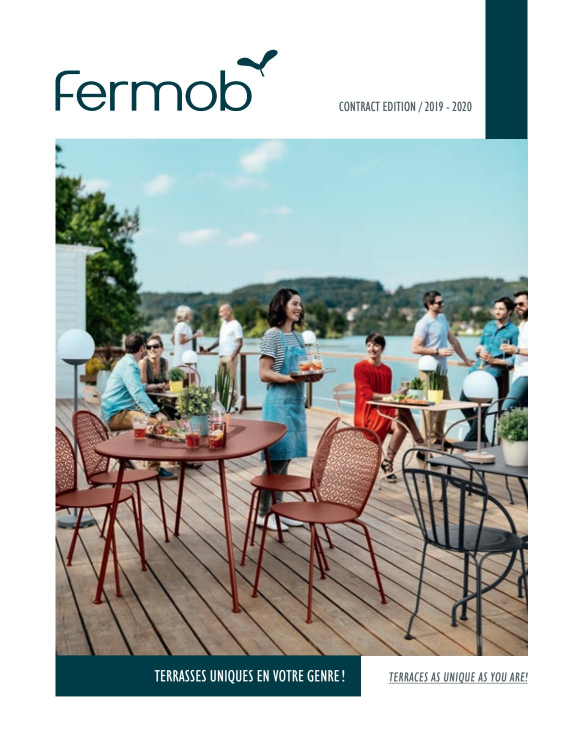 Lampe Led Table Exterieur Fermob Catalogue Contract 2018 Fr Us By Fermob Issuu