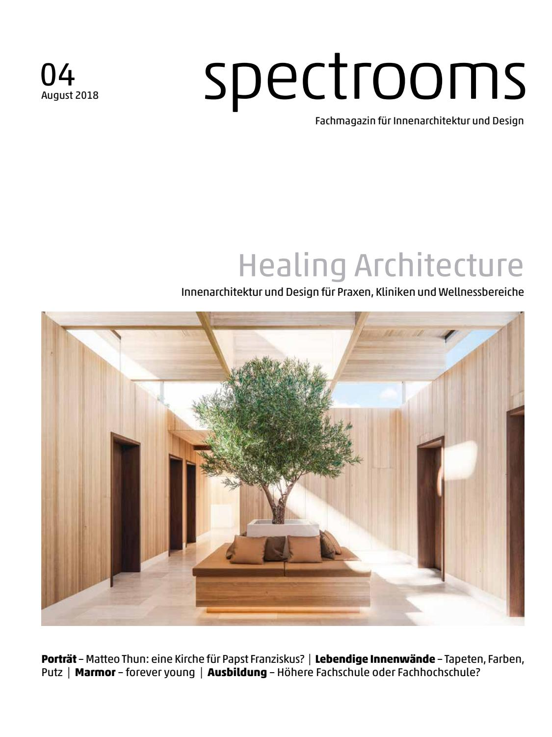 Innendesign Putz Spectrooms 04 2018 By Bl Verlag Ag Issuu