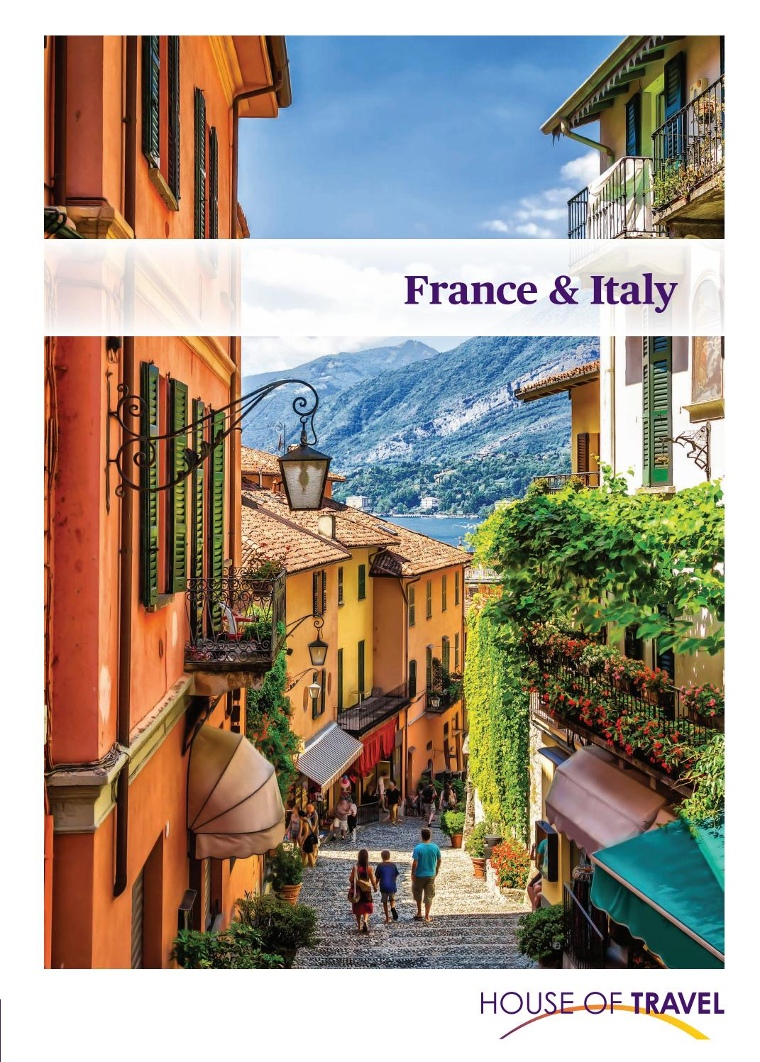 Zen Arte E Aroma France Italy Brochure 2019 By House Of Travel Issuu