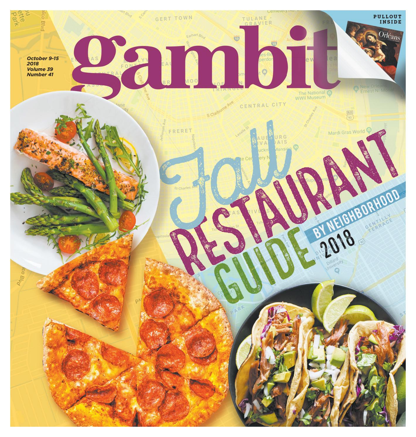 Alta Cucina Restaurant Johnson City Tn Gambit S Digital Edition Fall Restaurant Guide By Neighborhood