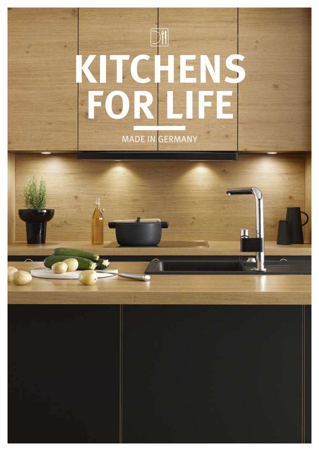 Einbaustrahler Küche Flach Kitchens For Life By Ip Luxembourg Issuu