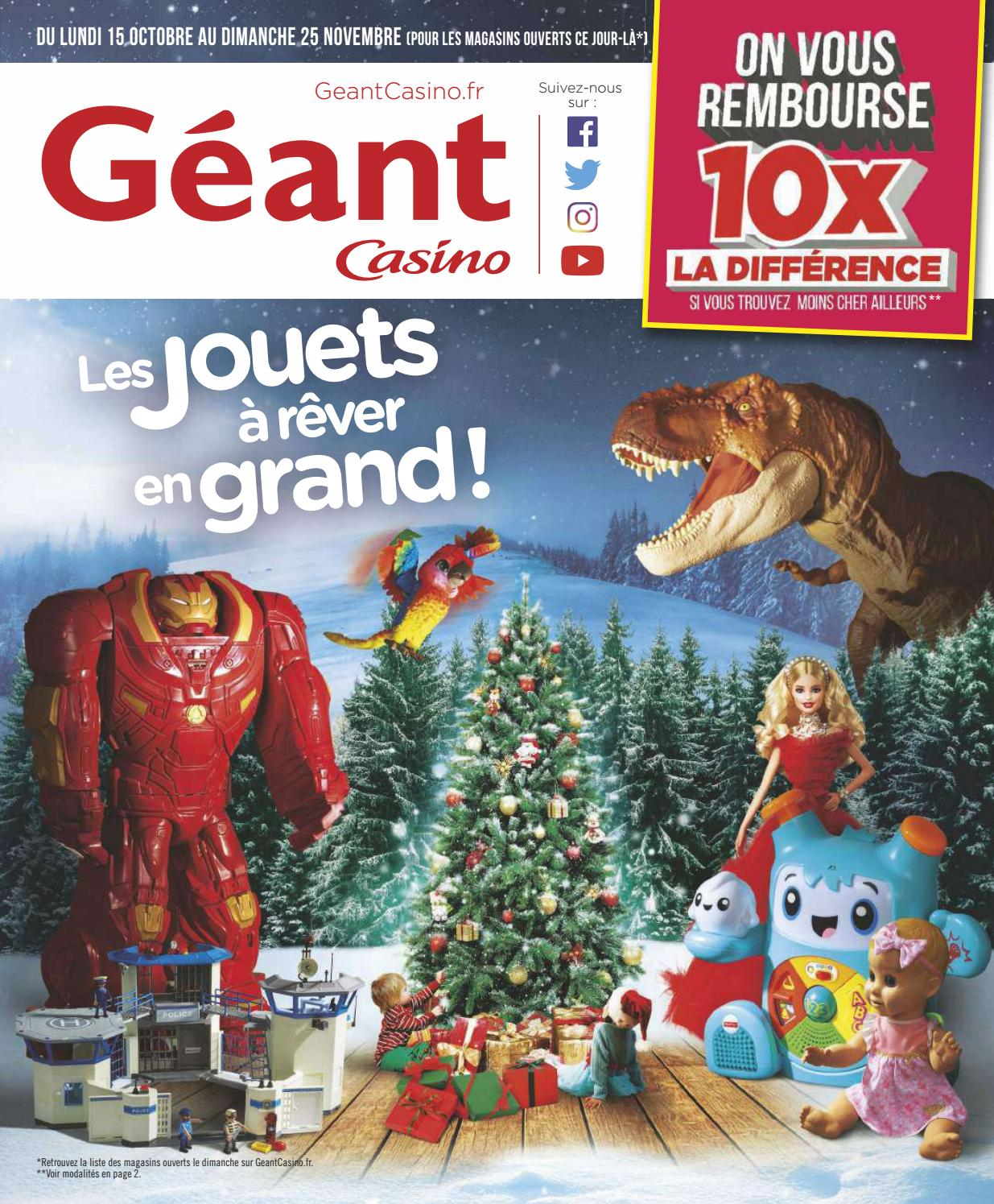 Helicoptere Radiocommande Exterieur Geant Catalogue Jouets Noël 2018 Géant Casino By Yvernault Issuu