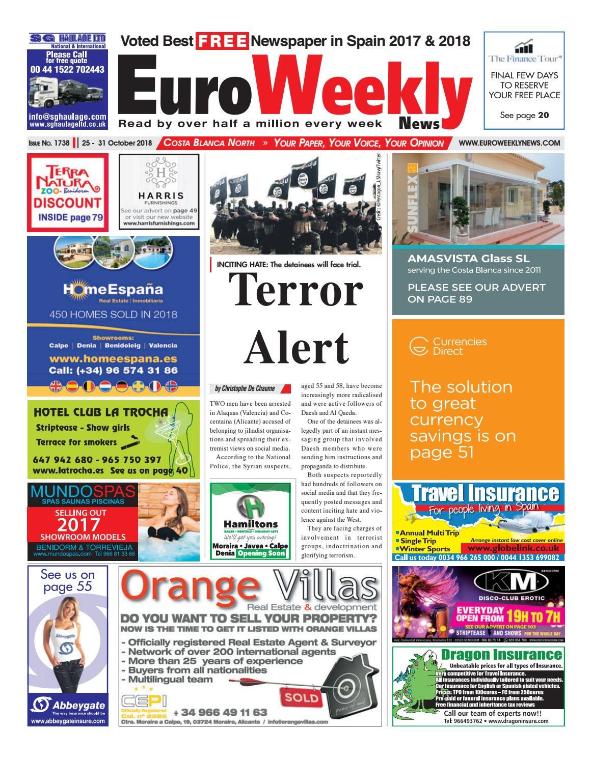 Cuisine Grenade Leroy Merlin Euro Weekly News Costa Blanca North October October 25 31 2018