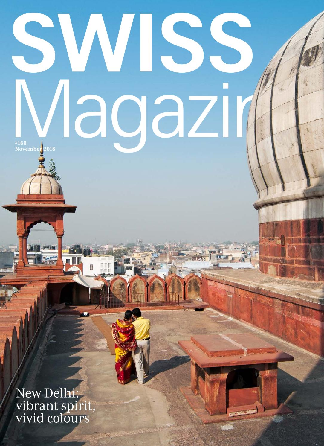 Fünf B Tief Swiss Magazine November 2018 New Delhi By Inflight Magazines By