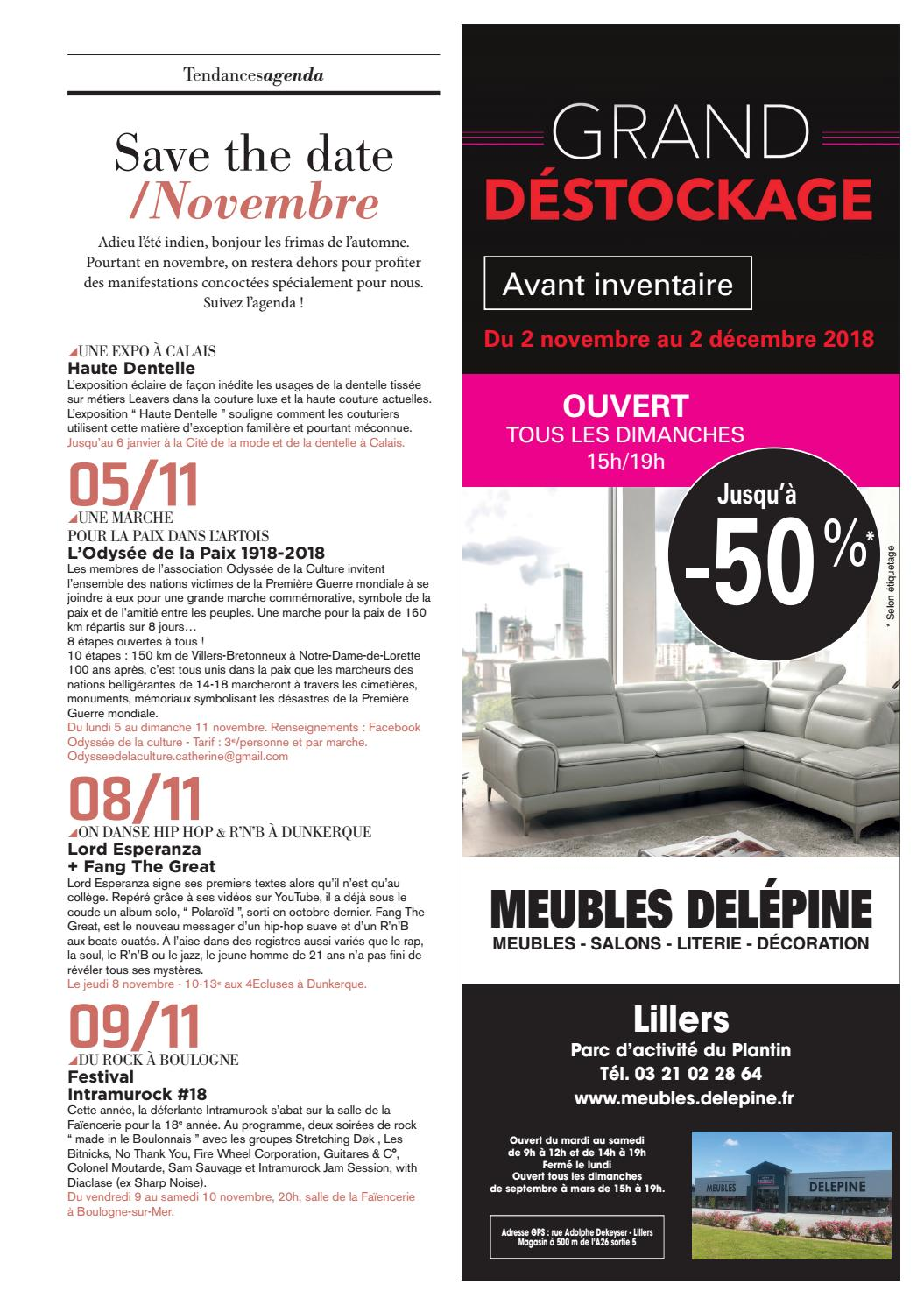 Meuble Delepine Tendances Co N83 Novembre 2018 By Groupe Nord Littoral Issuu