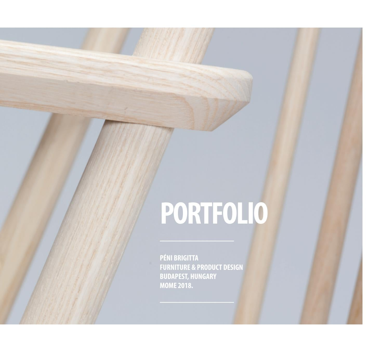 Brigitta Péni Furniture Product Design Portfolio 2018 By Brigitta Péni Issuu