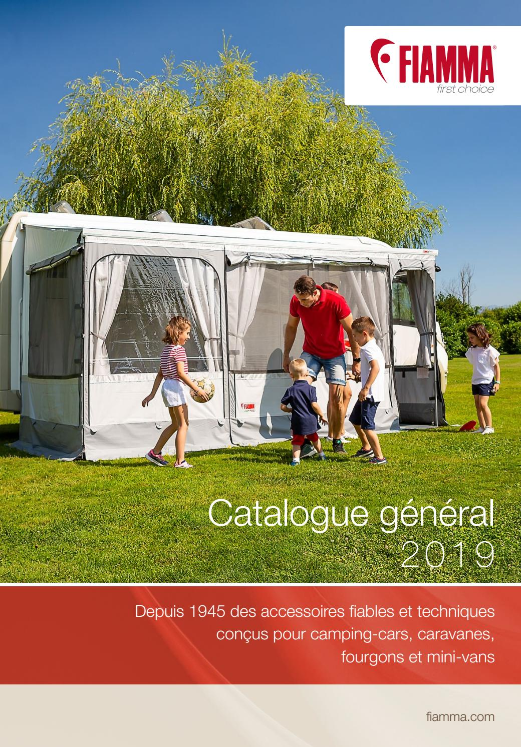 Auvent Porte Arriere Trafic Catalogue General Fiamma 2019 Fr By Makemedia Studios S A S Issuu