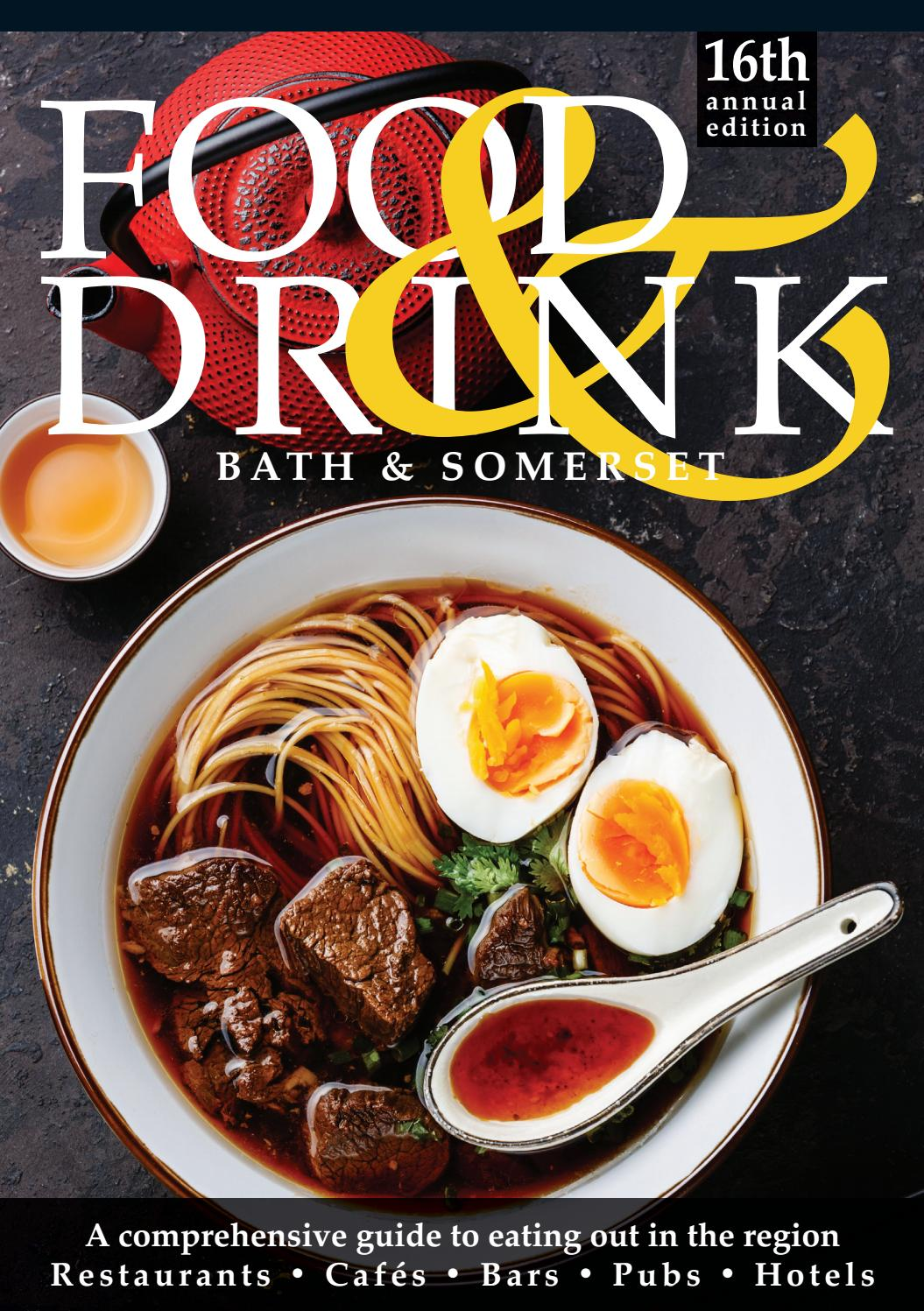 Cuisine Royale Guide Bath Somerset Food Drink Guide 2018 By Food Drink Guides Issuu