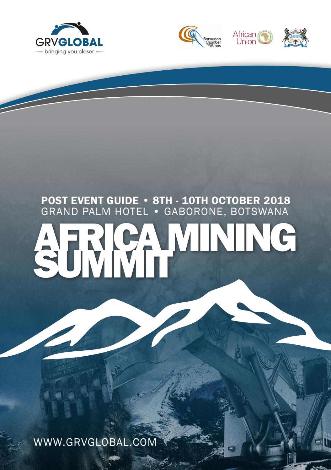 Advanced Solutions For Growing Companies Mmk Systems Africa Mining Post Summit Report 2018