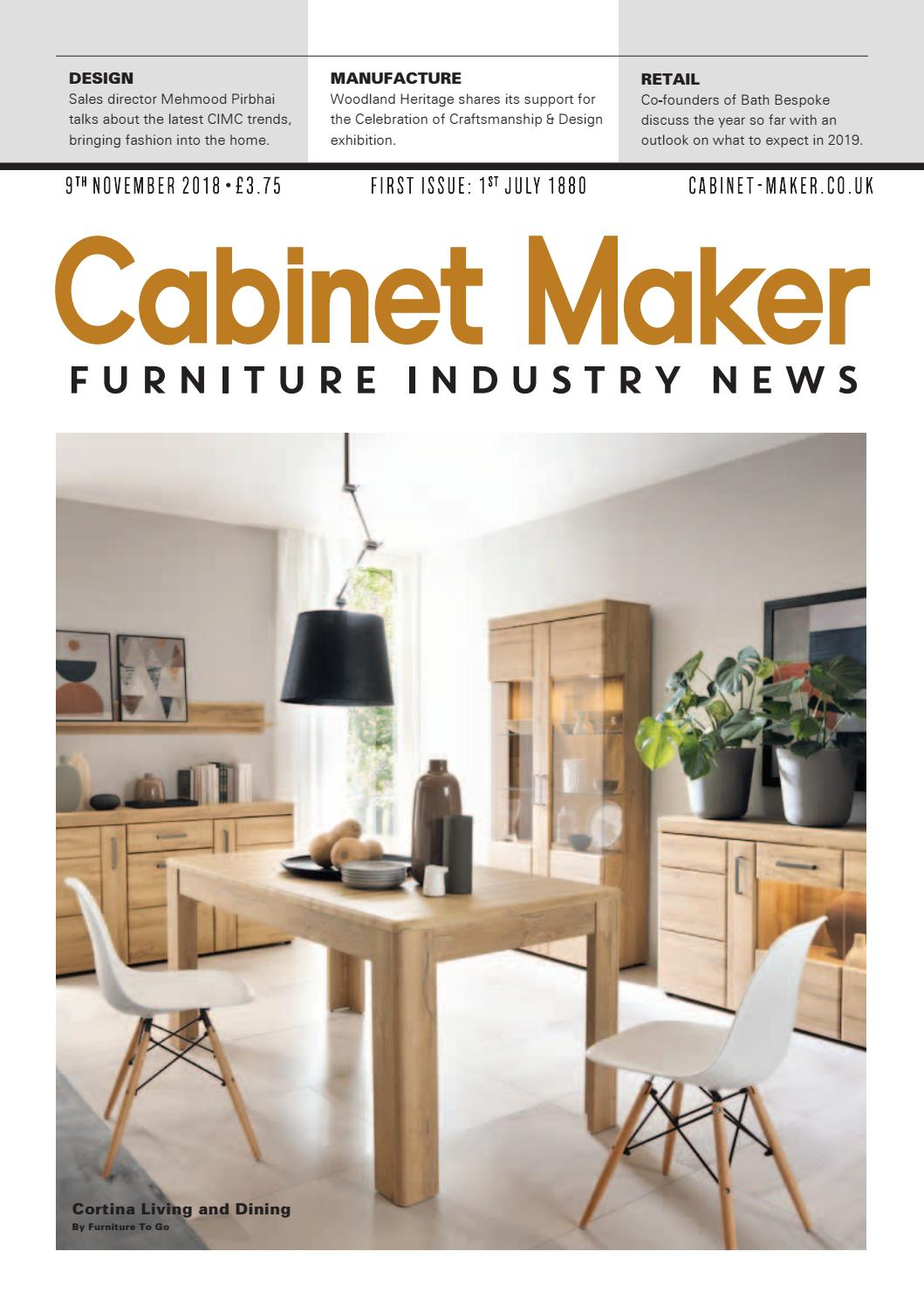 Cabinet Maker 9th November 2018 By Chloe Bowers Issuu