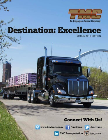 Destination Excellence Spring 2016 Edition by TMC Transportation