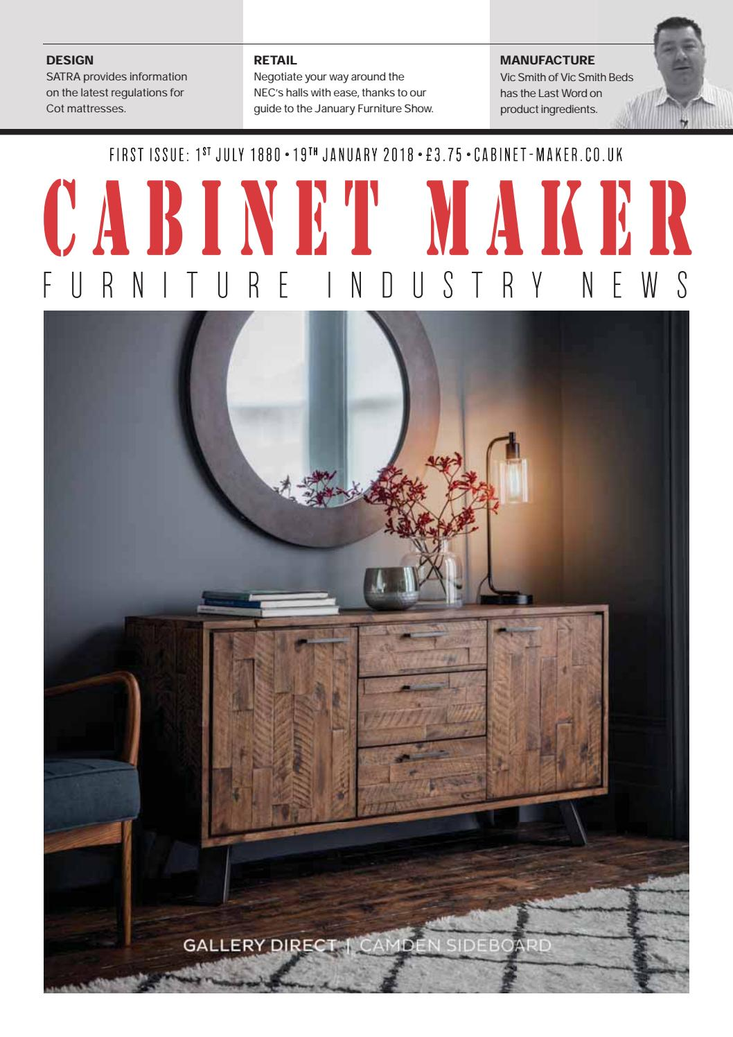 Cabinet Maker 19th January 2018 By Chloe Bowers Issuu
