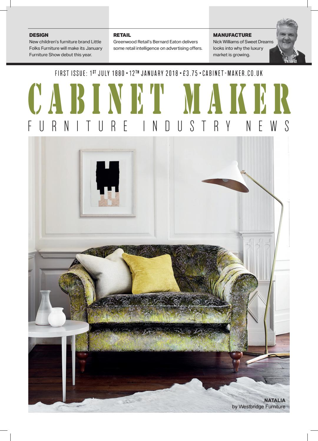 Cabinet Maker 12th January 2018 Part 1 By Chloe Bowers Issuu