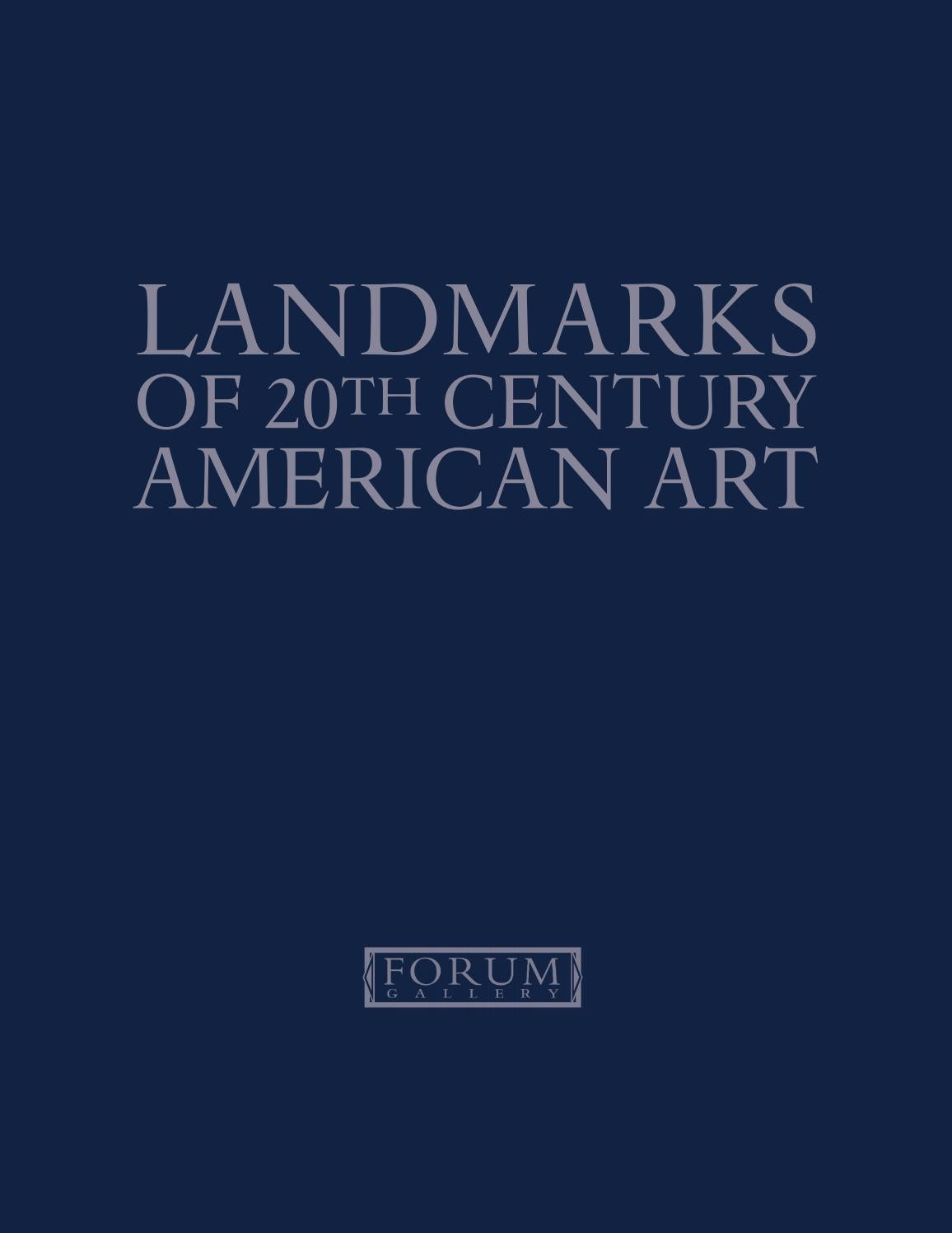Fenetre K Line Forum Landmarks Of 20th Century American Art By Forum Gallery Issuu