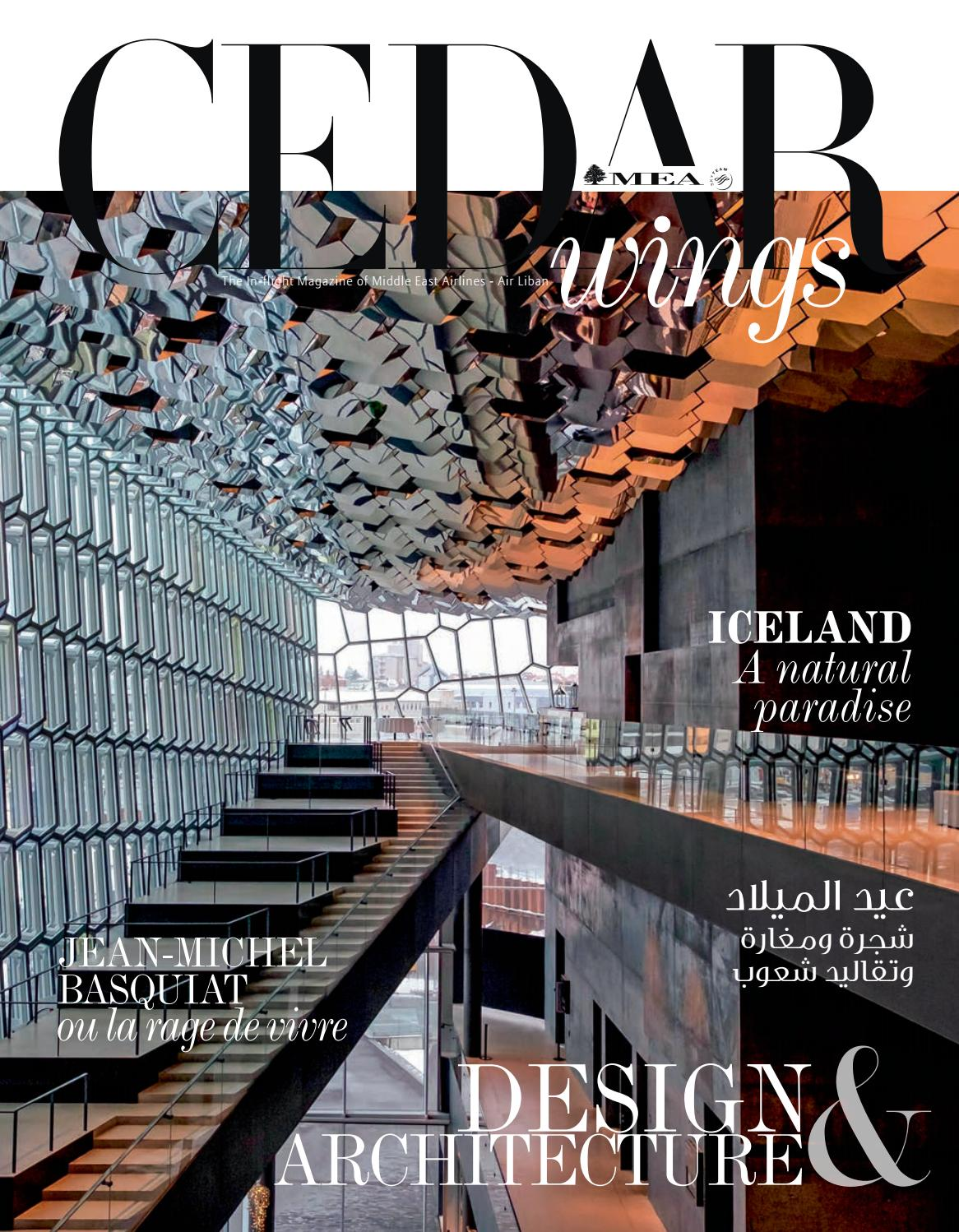 Architecture Intérieure Synonyme Cedar Wings Magazine Design Architecture December 2018 January 2019