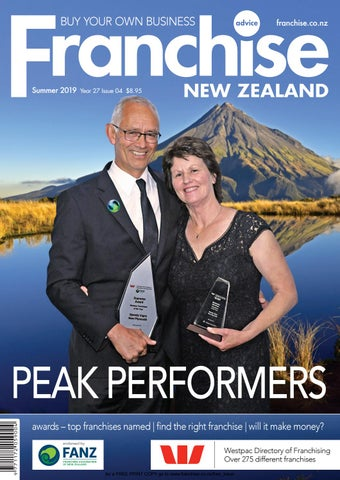 Franchise New Zealand - Year 27 Issue 04 \u2013 Summer 2019 by Franchise
