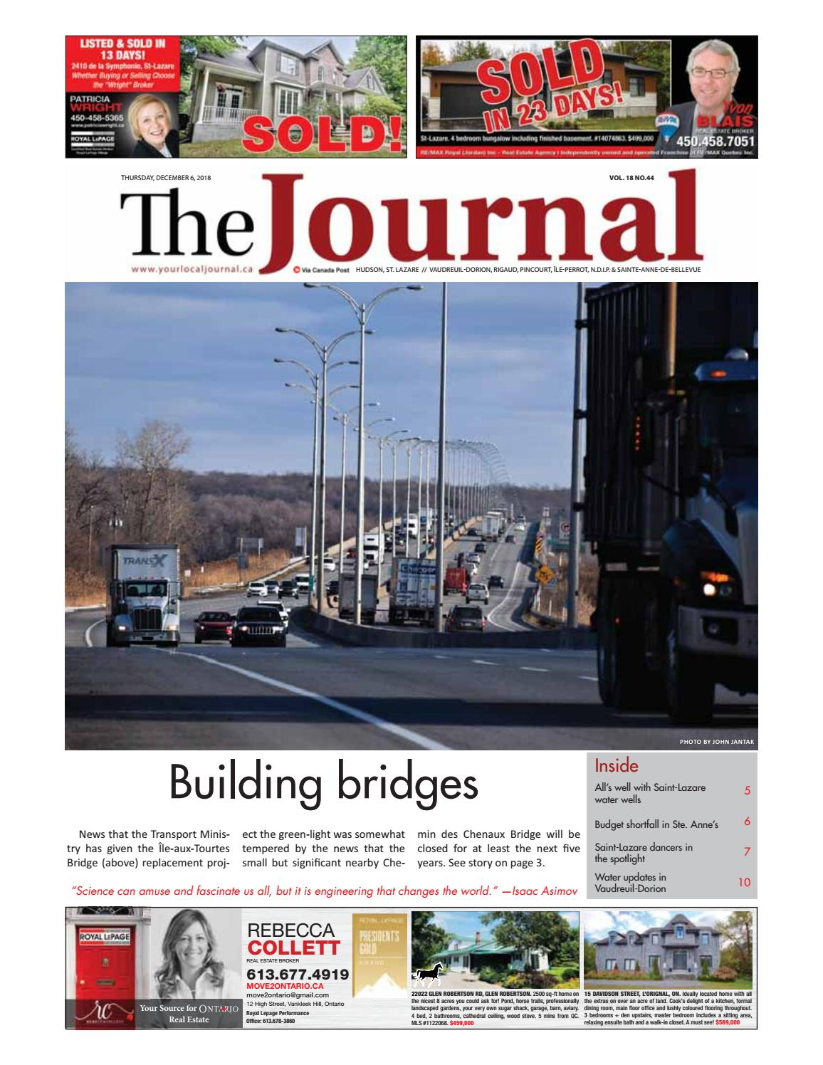 Cabinet Dentaire Saint Lazare The Journal Thursday December 6th 2018 By Your Local Journal