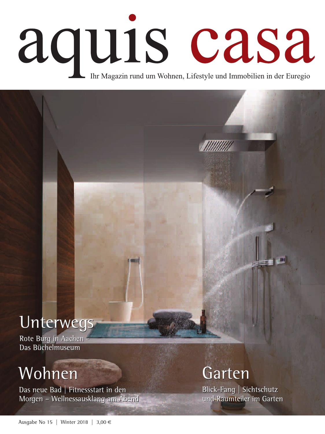Mietminderung Badezimmer Baustelle Aquis Casa No 15 Winter 2018 By Marcello Vercio Issuu