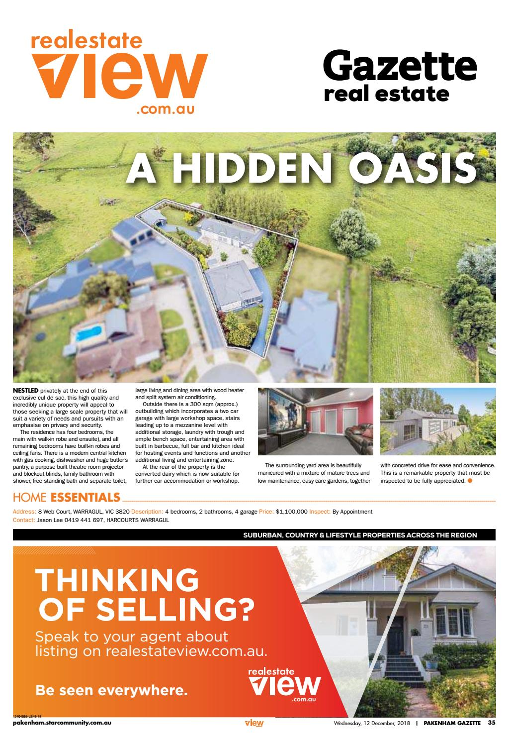 Pakenham Storage Real Estate Pakenham Gazette 12th December 2018 By Star News