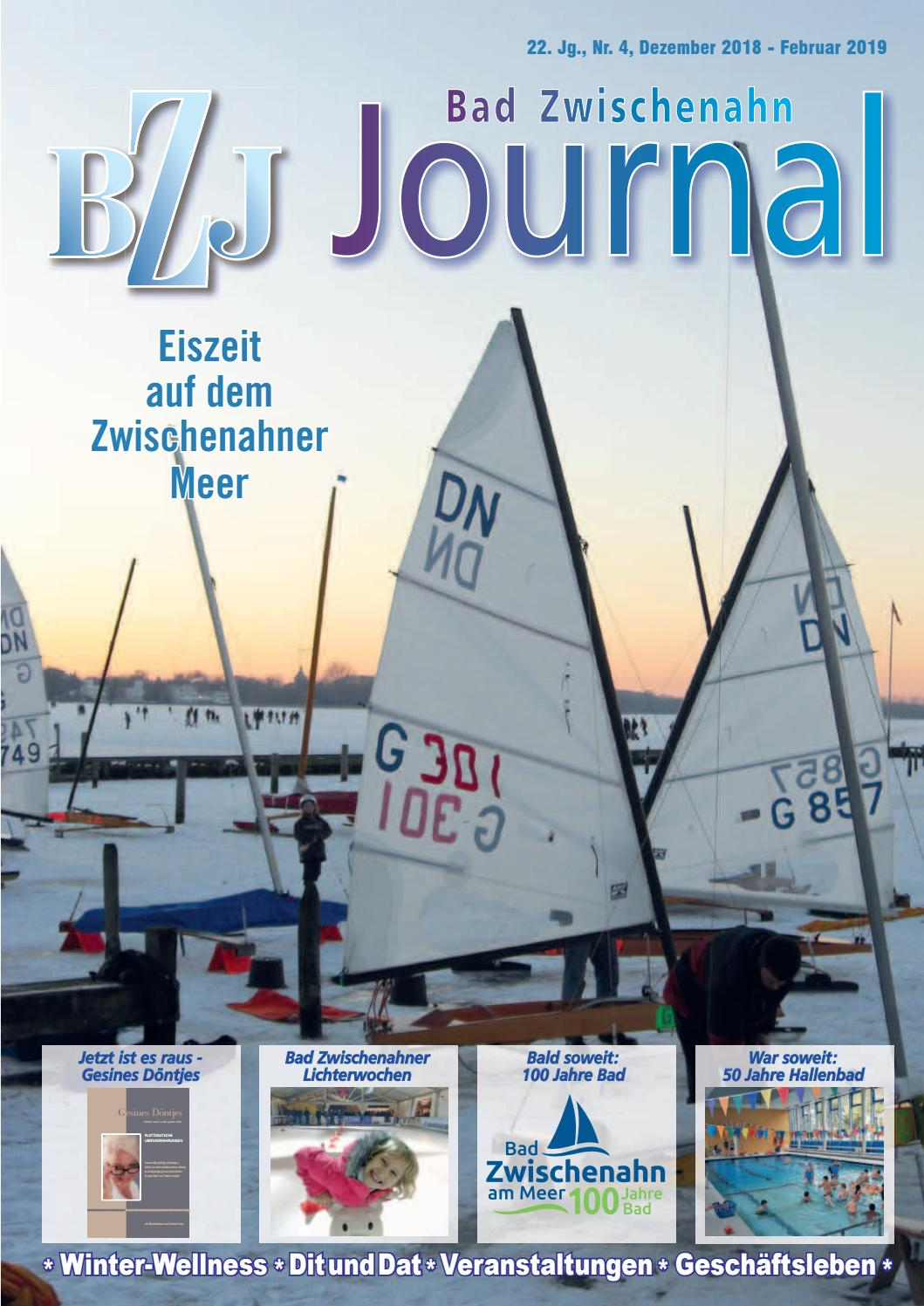 Bad Zwischenahn Veranstaltungen Bz Journal Winter 2018 By Büntingmedia Issuu
