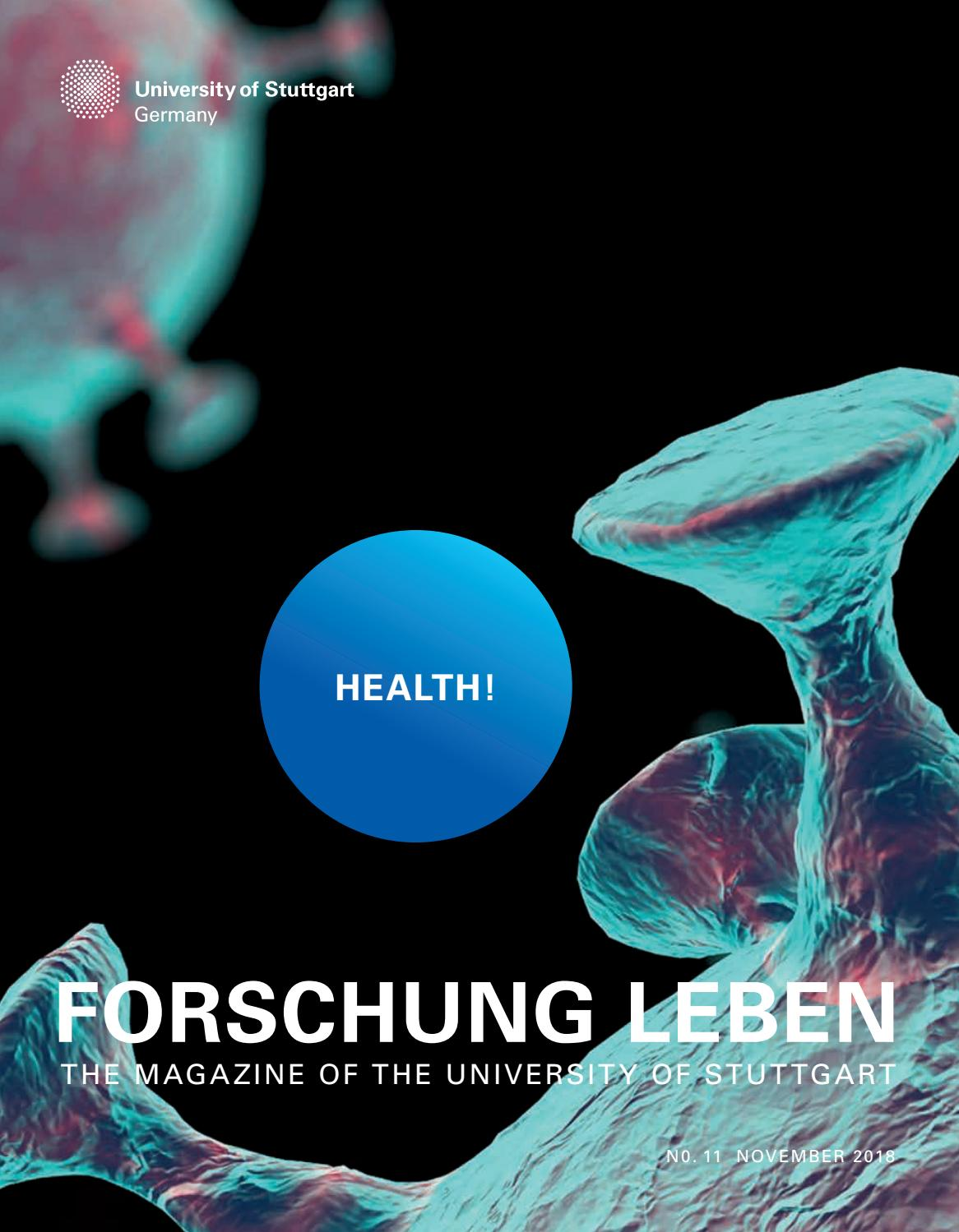 Cash Pool Fellbach Forschung Leben Vol 11 2018 Health By Universität Stuttgart Issuu