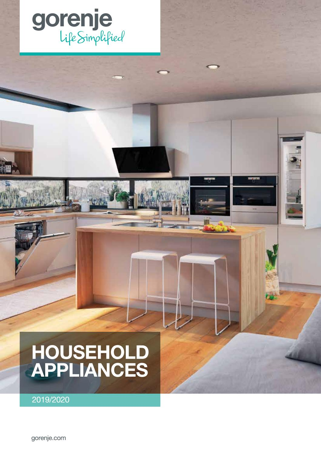 2020 Kitchen Design Manual Gorenje Household Appliances 2019 2020 By Gorenje D D Issuu