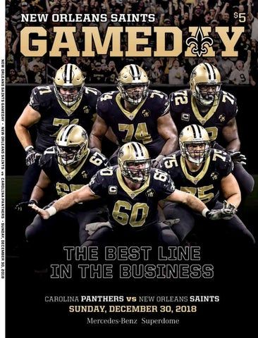 New Orleans Gameday New Orleans Saints Vs Carolina Panthers