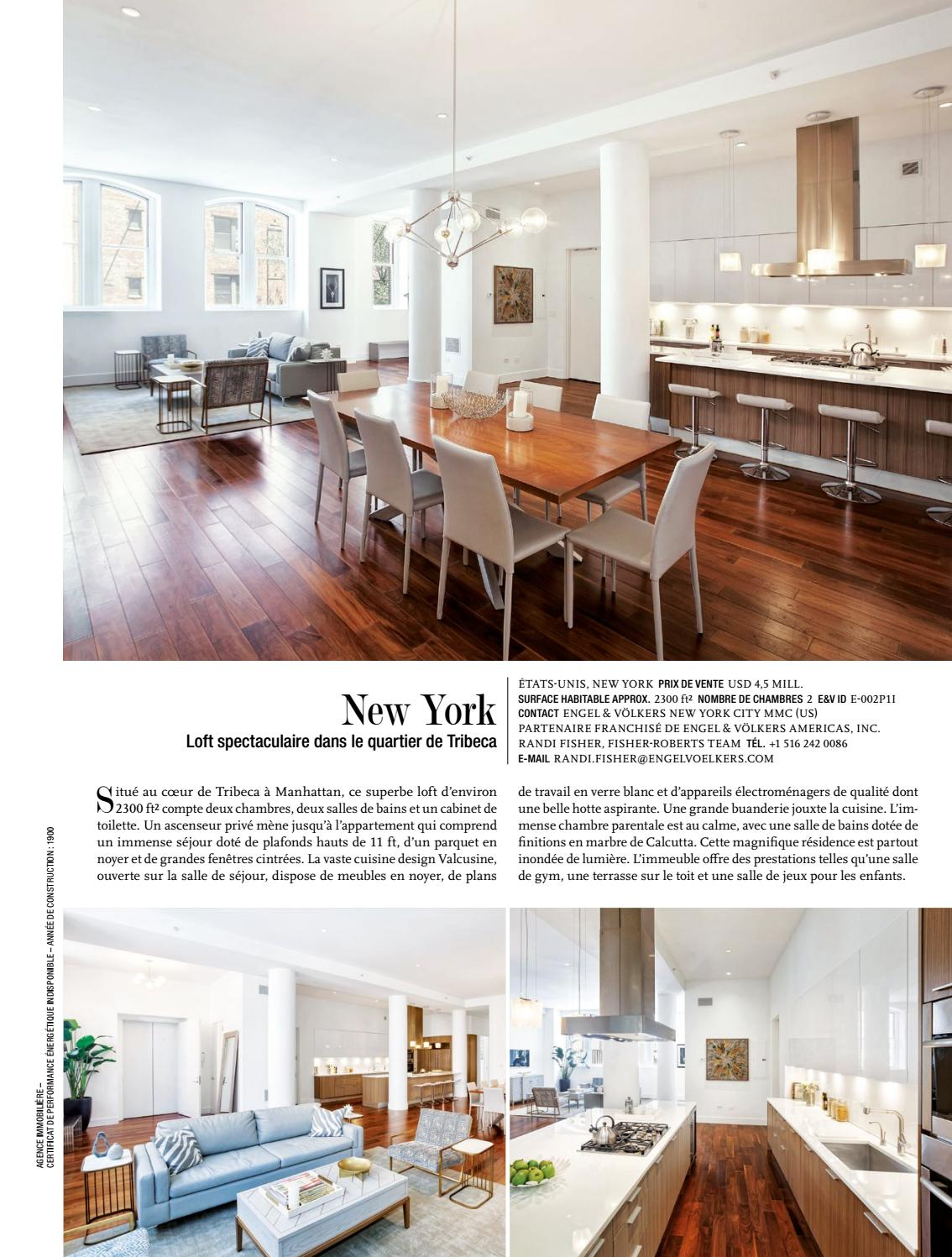 Cuisine Loft New Yorkais Gg Magazine 01 19 French