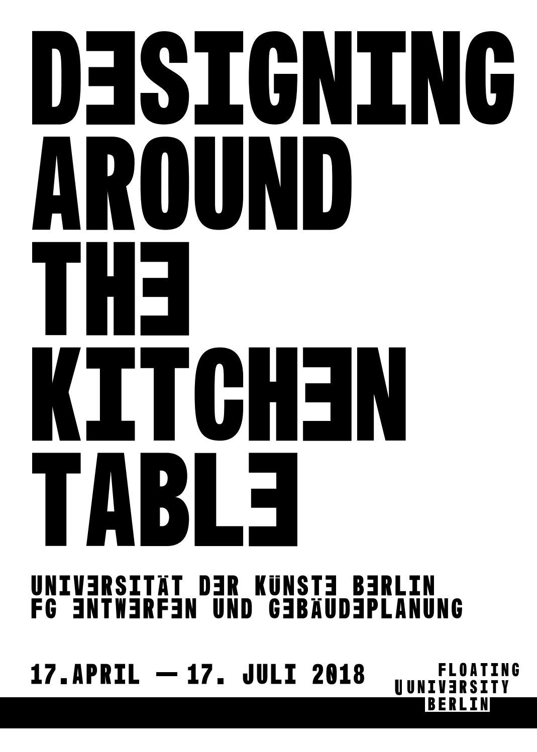 Modul Küchenelemente Designing Around The Kitchen Table By Making Futures Issuu