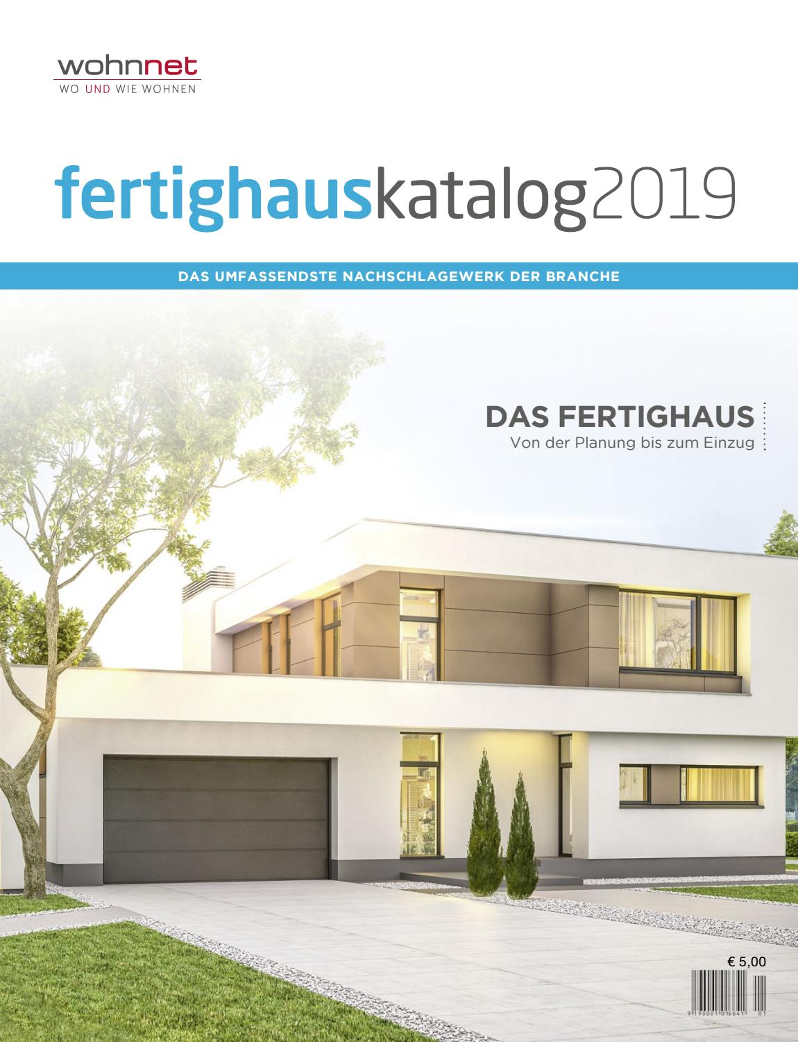 Fertighaus Usa Fertighauskatalog 2019 By Wohnnet Issuu