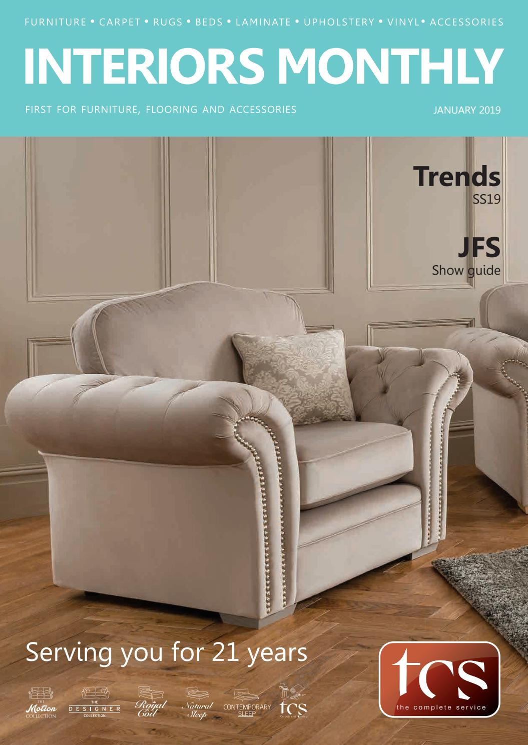 Elite Möbel Sofas Interiors Monthly January 2019 By Interiors Monthly Issuu