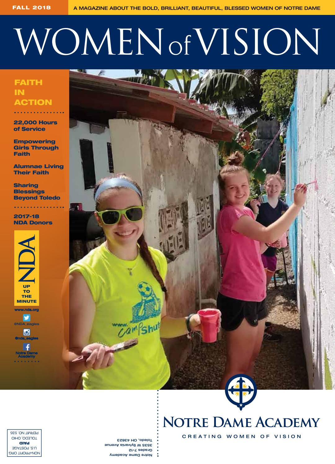 Nda Women Of Vision By Notre Dame Academy Issuu