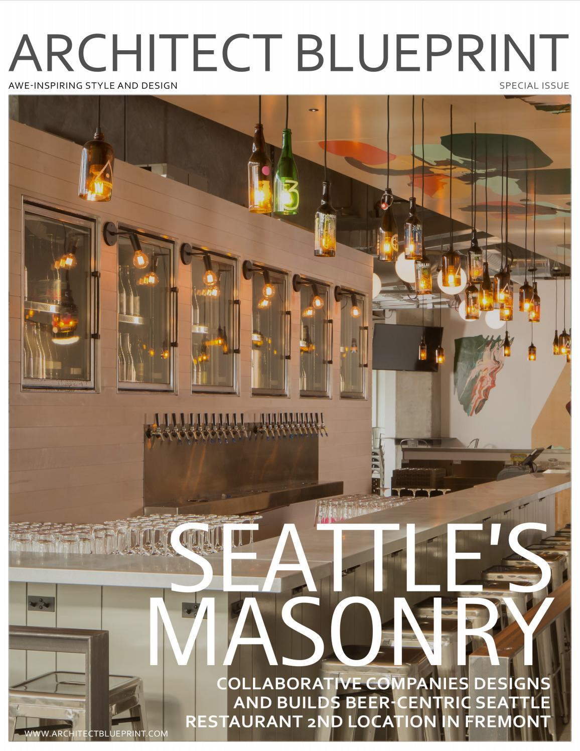 Masonry Companies Seattle S Masonry Collaborative Companies Designs And Builds Beer
