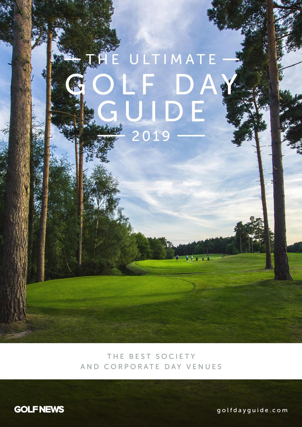 La Cucina Restaurant Great Yarmouth The Ultimate Golf Day Guide 2019 By Golf News Issuu