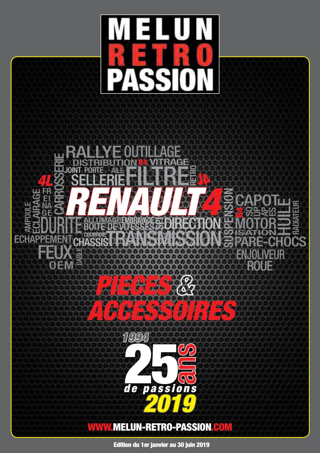Cetelem Virement 48h Catalogue Renault 4 Melun Retro Passion