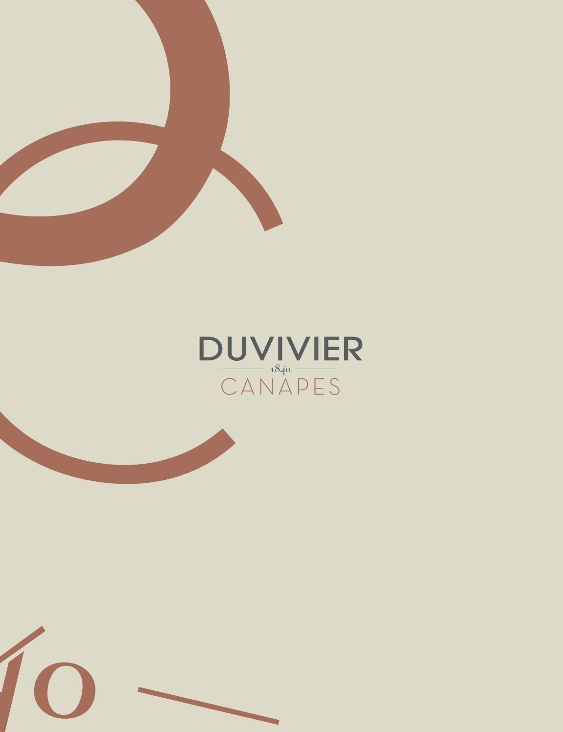 Canape Lounge Duvivier Catalogue Duvivier By Cardona Domus Issuu