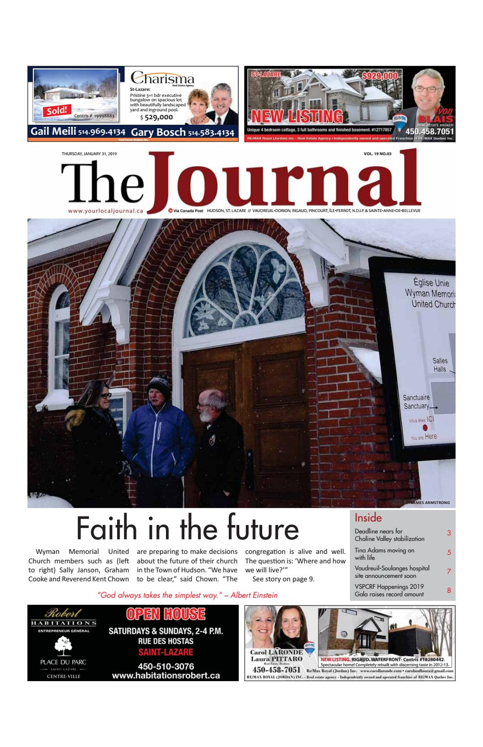 Cabinet Dentaire Saint Lazare The Journal Thursday January 31st 2019 By Your Local Journal