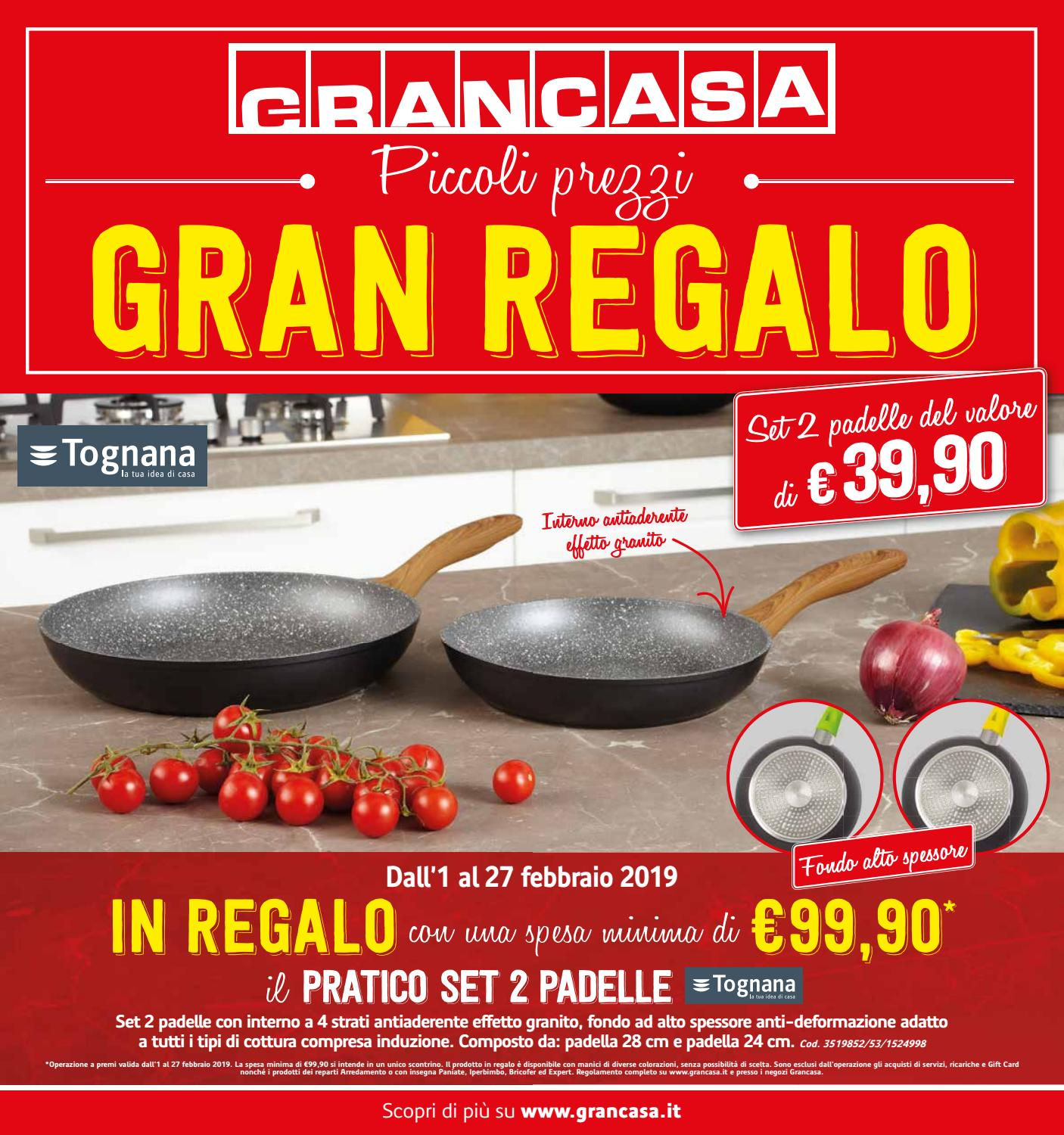 Padelle Happy Casa Grancasa 27feb By Best Of Volantinoweb Issuu