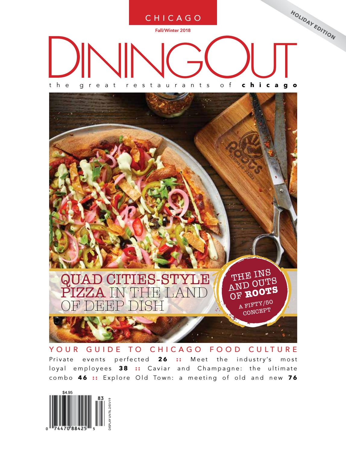 Tagliere Tiers Diningout Chicago Issue 44