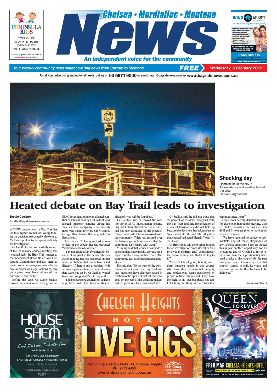 Wednesday 6 February 2019 6 February 2019 By Mornington Peninsula News Group Issuu